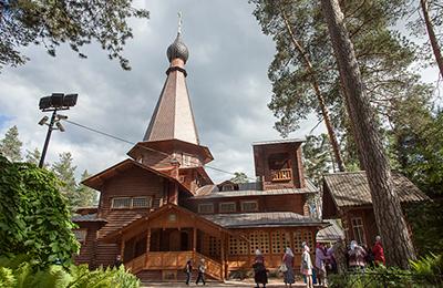 Паломническая поездка в Вырицу