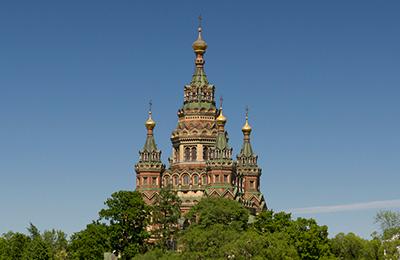Паломническая поездка в Петергоф