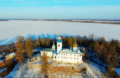 Череменецкий монастырь. Псков к о.Олегу Тэору